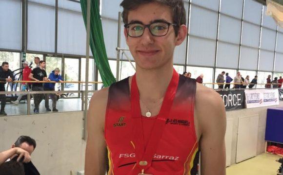 Championnats suisses jeunesses                        Macolin, 22 et 23 février Arno Tricarico  s'envole enfin sur le podium !