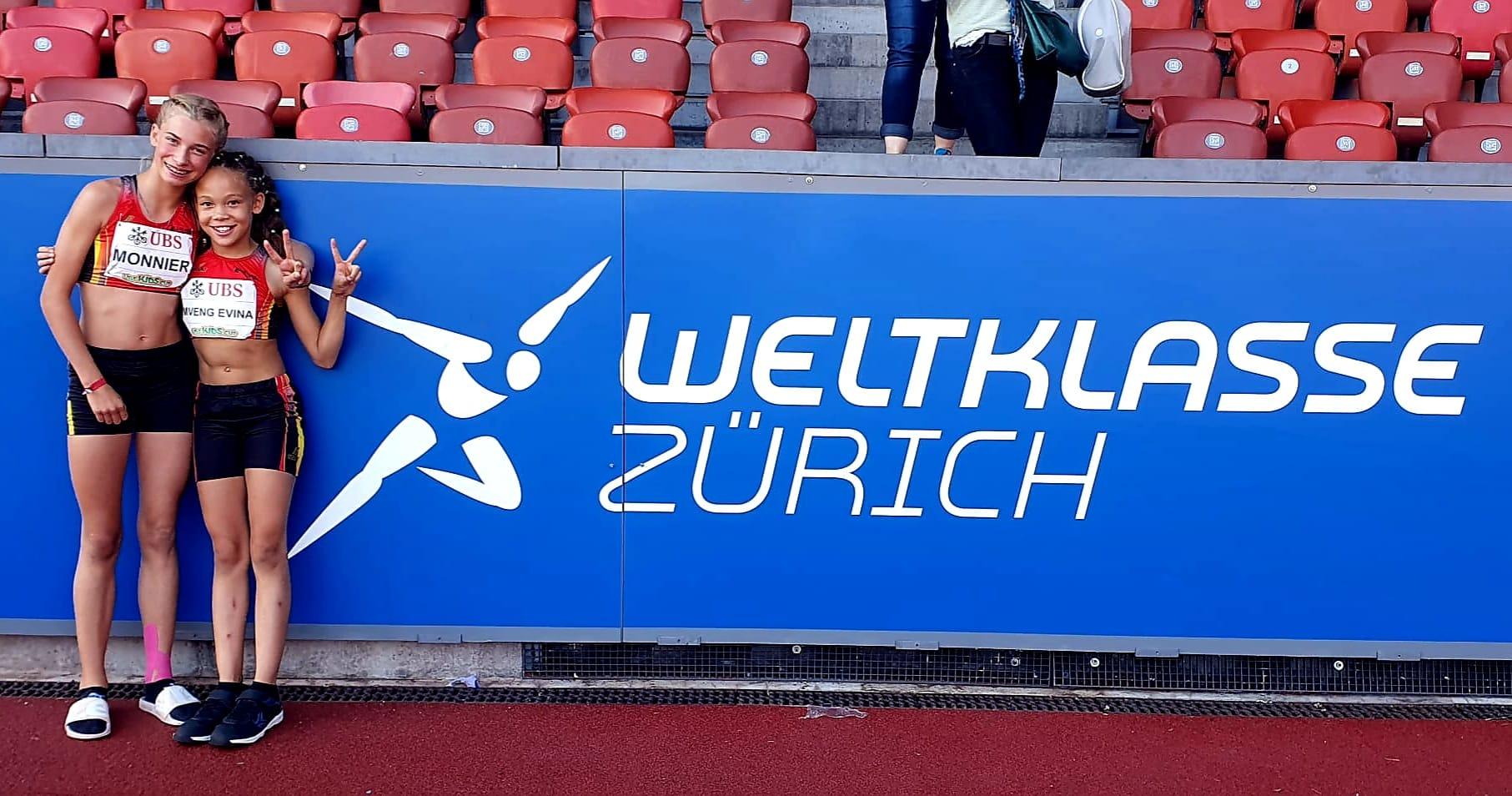 Finale suisse de l'UBS Kids Cup à Zurich